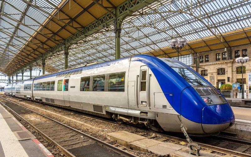 Francja pociągi